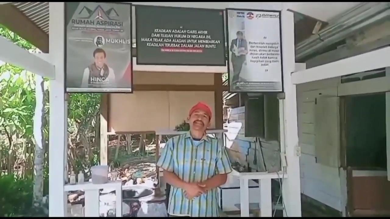 Anggota DPR RI Komisi III DR Hinca IP Panjaitan XIII SH MH Meresmikan Rumah Aspirasi Dan Rumah Kusut Tradisional di Kecamatan Tapian Dolok, Kabupaten Simalungun