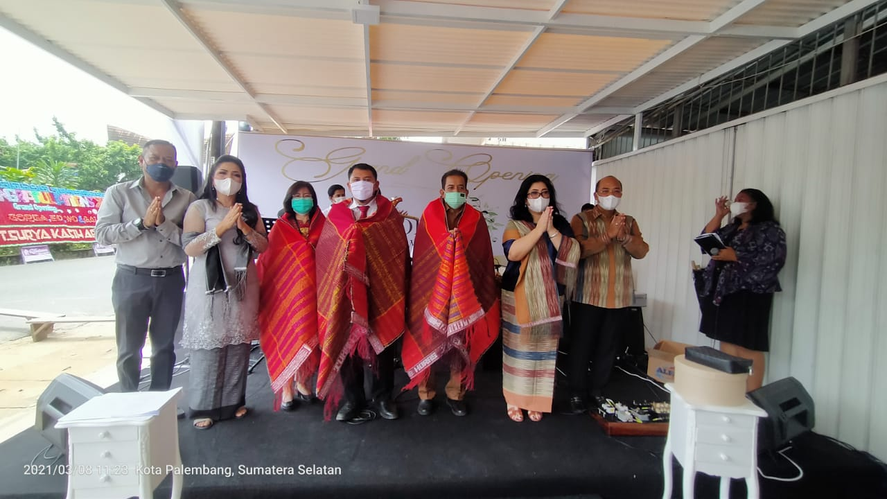 Grand Opening GORGA EO, WO, dan Gallery, Menambah Nuansa Baru Di Tanah Sriwijaya