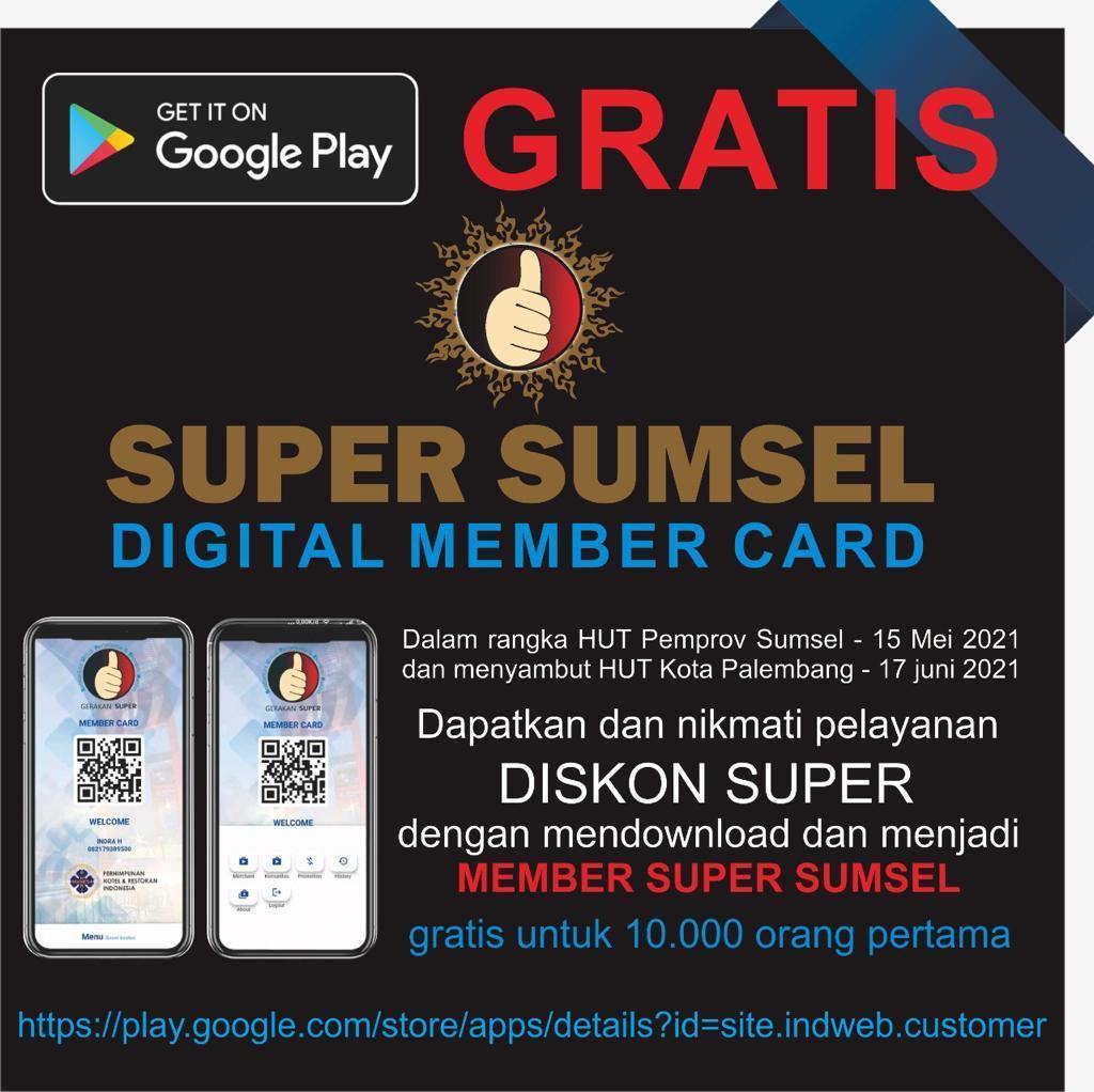 Download Aplikasi Super Sumsel Layanan Mudah Menikmati Pariwisata Di Sumsel