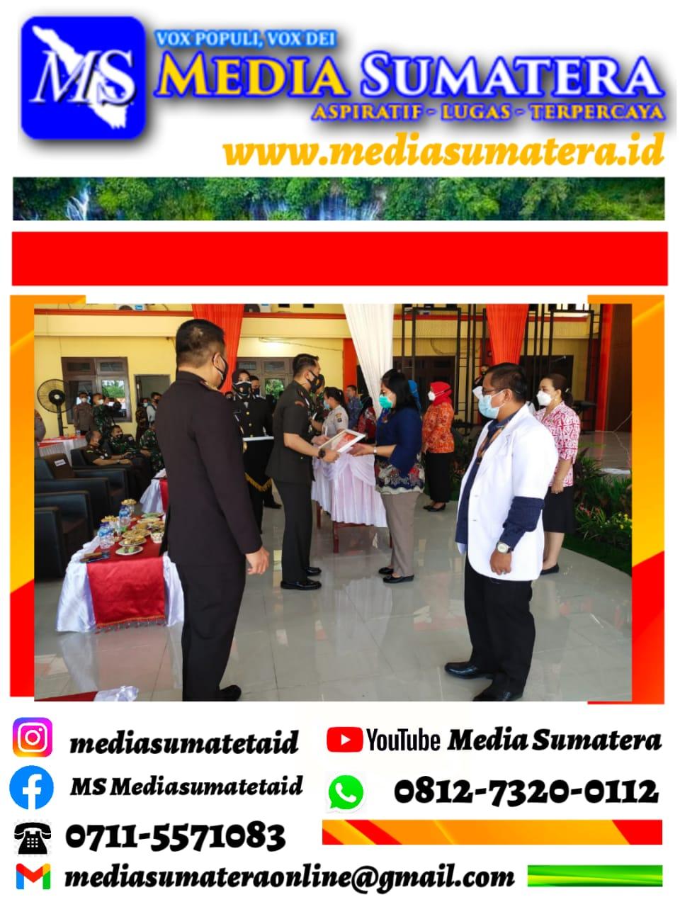 Polresta Deli Serdang Ikuti Upacara HUT Bhayangkara Ke-75 tahun 2021 Secara Virtual