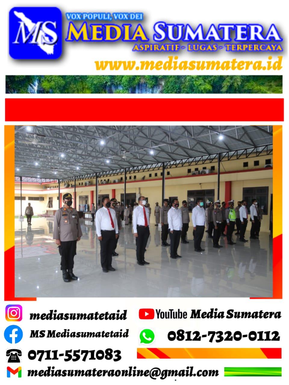 Kapolresta Deli Serdang Anugerahkan Reward Kepada 31 Personil Polresta Deli Serdang Yang Berprestasi