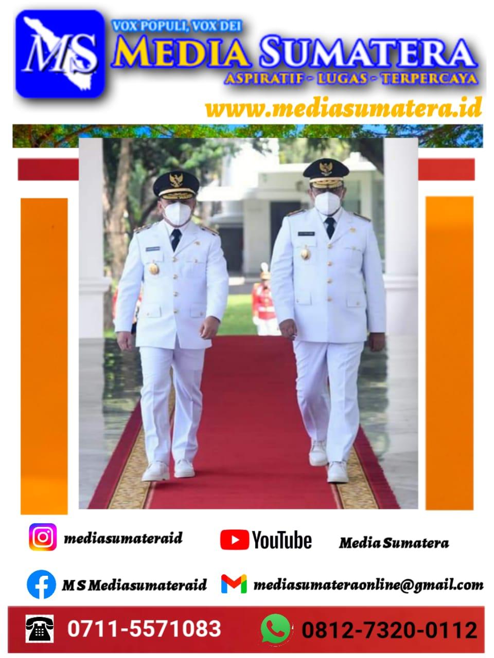 Presiden Joko Widodo Resmi Lantik Gubernur dan Wakil Gubernur Kalimantan Tengah Masa Jabatan 2021-2024