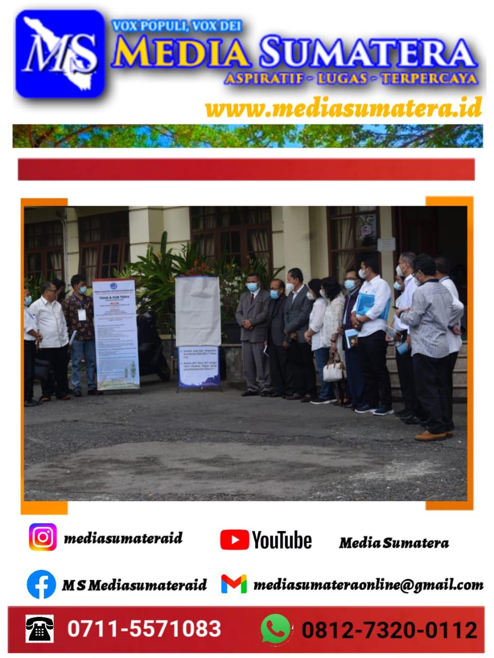 Disaksikan Sidang Majelis Sinode (SMS) I Bishop GKPI Pdt Abdul Hutauruk, MTh launching Renstra GKPI 2021-2025