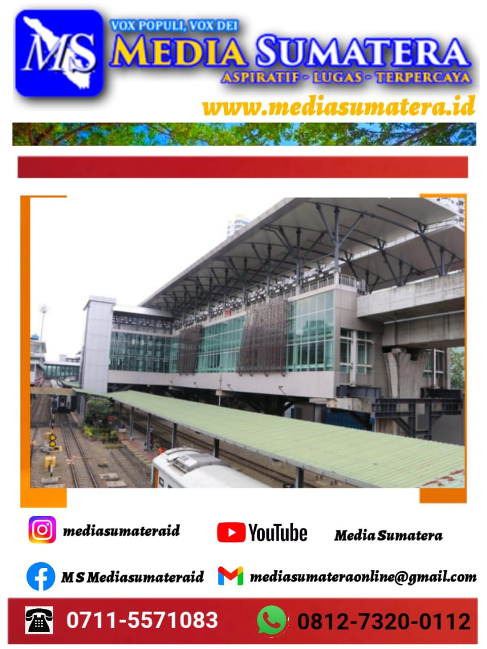 Kereta Api Perkotaan Medan, Binjai, Deli Serdang Digagas Jadi Tulang Punggung Transportasi