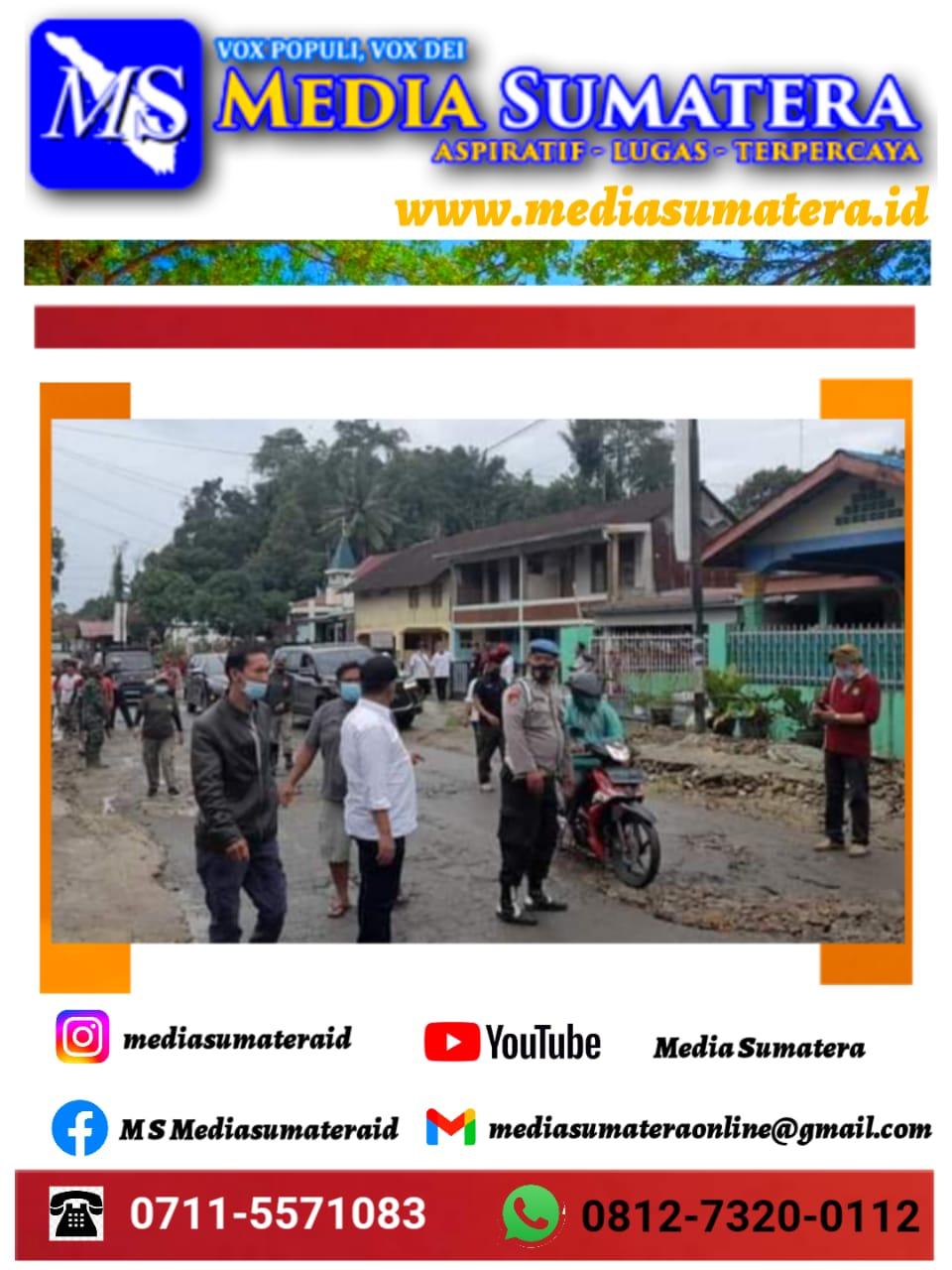 Bupati Simalungun Radiapoh Hasiholan Sinaga berpesan agar pembangunan di Kabupaten Simalungun harus dilaksanakan secara menyeluruh