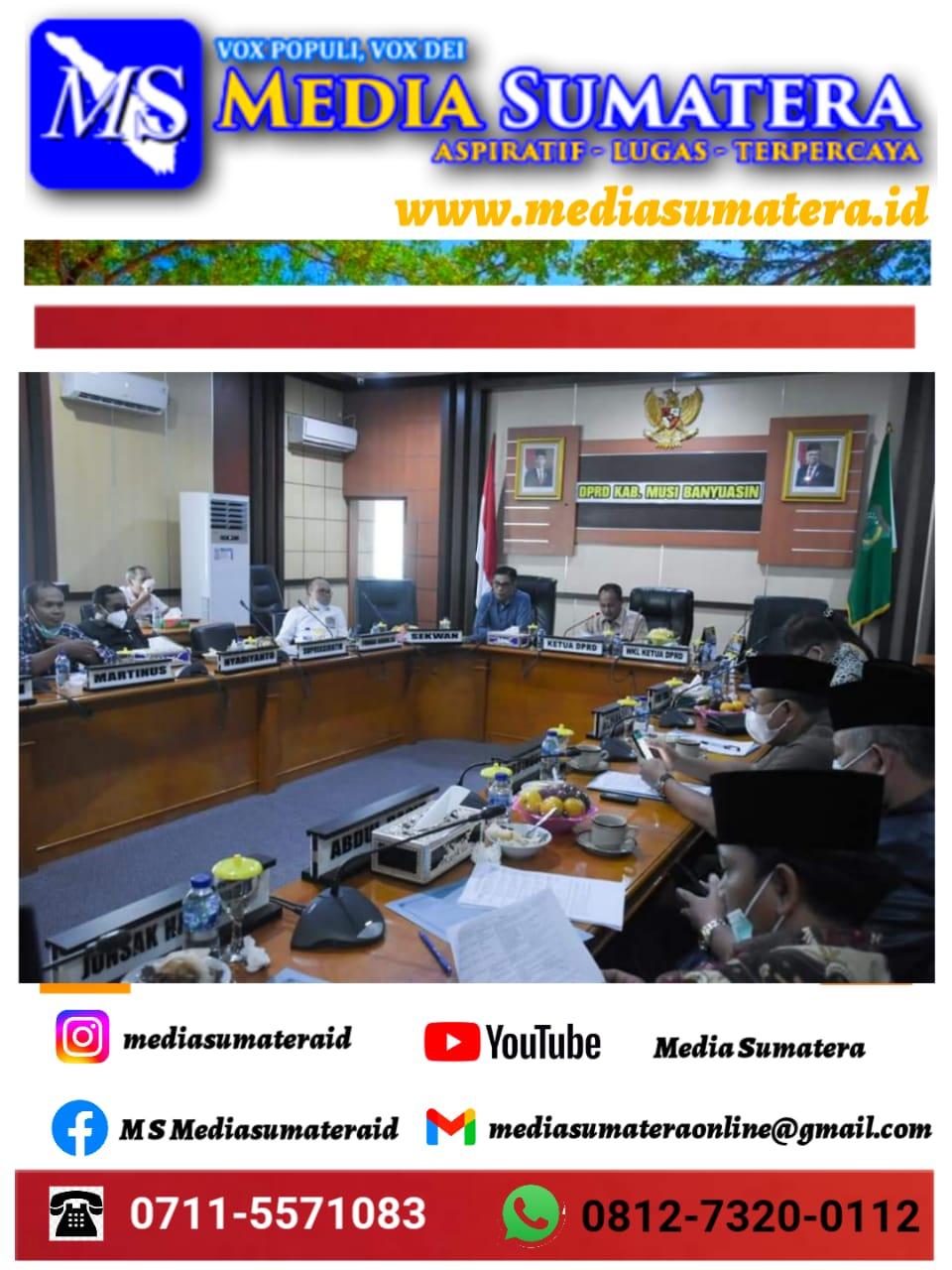 Pembentukan Badan Usaha Milik Daerah PT. Musi Banyuasin Electric Power (Perseroda) Masuk Dalam Agenda Pembahasan Raperda Kabupaten Muba 2021