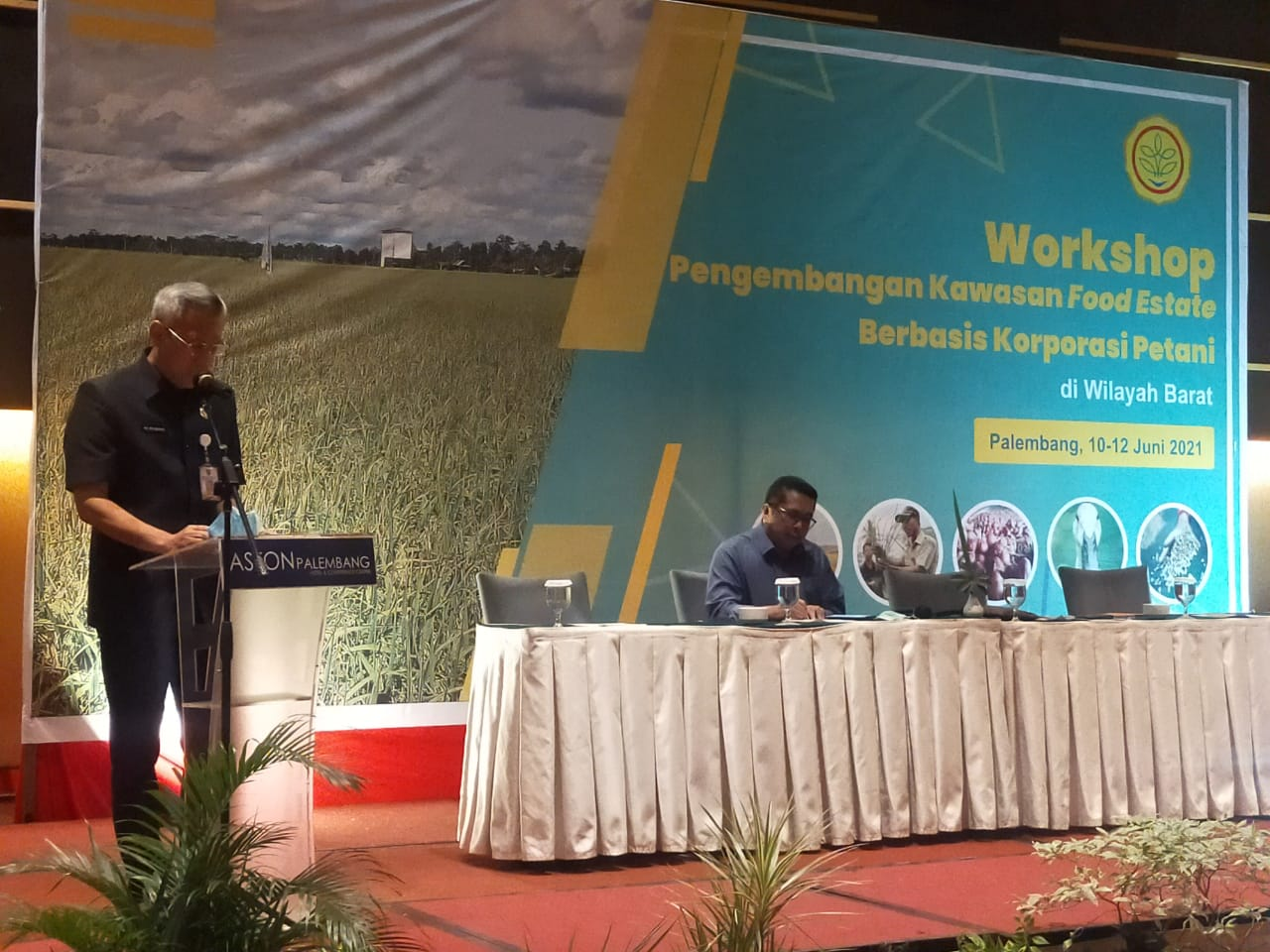 Kadis Pertanian TPH Sumsel Dukung PT Buyung Poetra Sembada Sebagai Mitra Kerja Pemerintah Untuk Mendukung Program Food estate