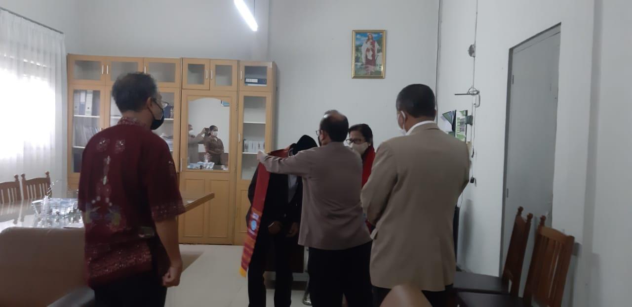 Kunjungan Lembaga Alkitab Indonesia ke Kantor Sinode Gereja Kristen Protestan Indonesia (GKPI) Kota Pematangsiantar