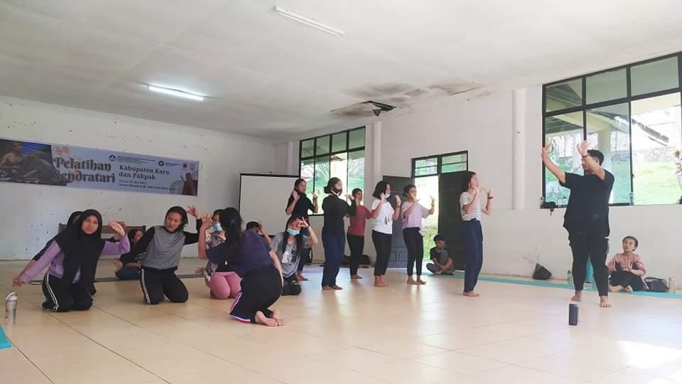 Acara Penutupan Program pelatihan Sendratari Karo dan Pakpak Terselenggarakan Dengan Baik