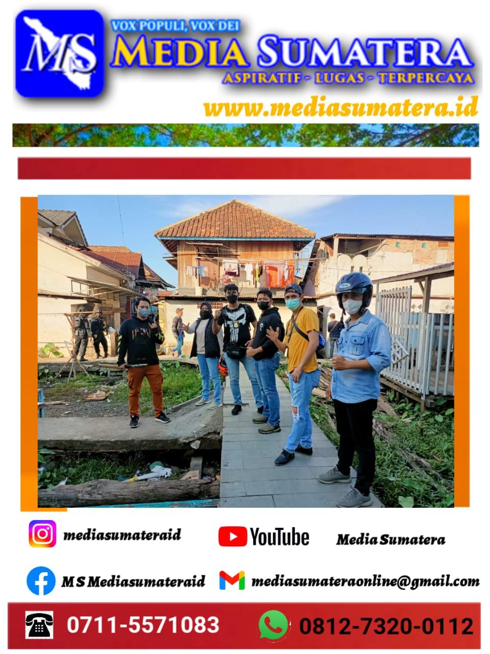 Kapolda Sumsel : Bukti Keseriusan Kita Dalam Menumpas Narkoba, Kampung Narkoba Tangga Buntung Palembang Kembali Di Gerebek
