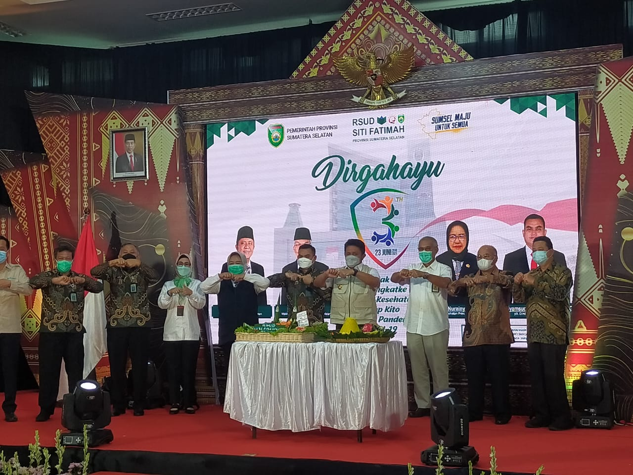 Hut Ke-3 Tahun RSUD Siti Fatimah, Gubernur Sumsel H Herman Deru Apresiasi Prestasi Luar Biasa
