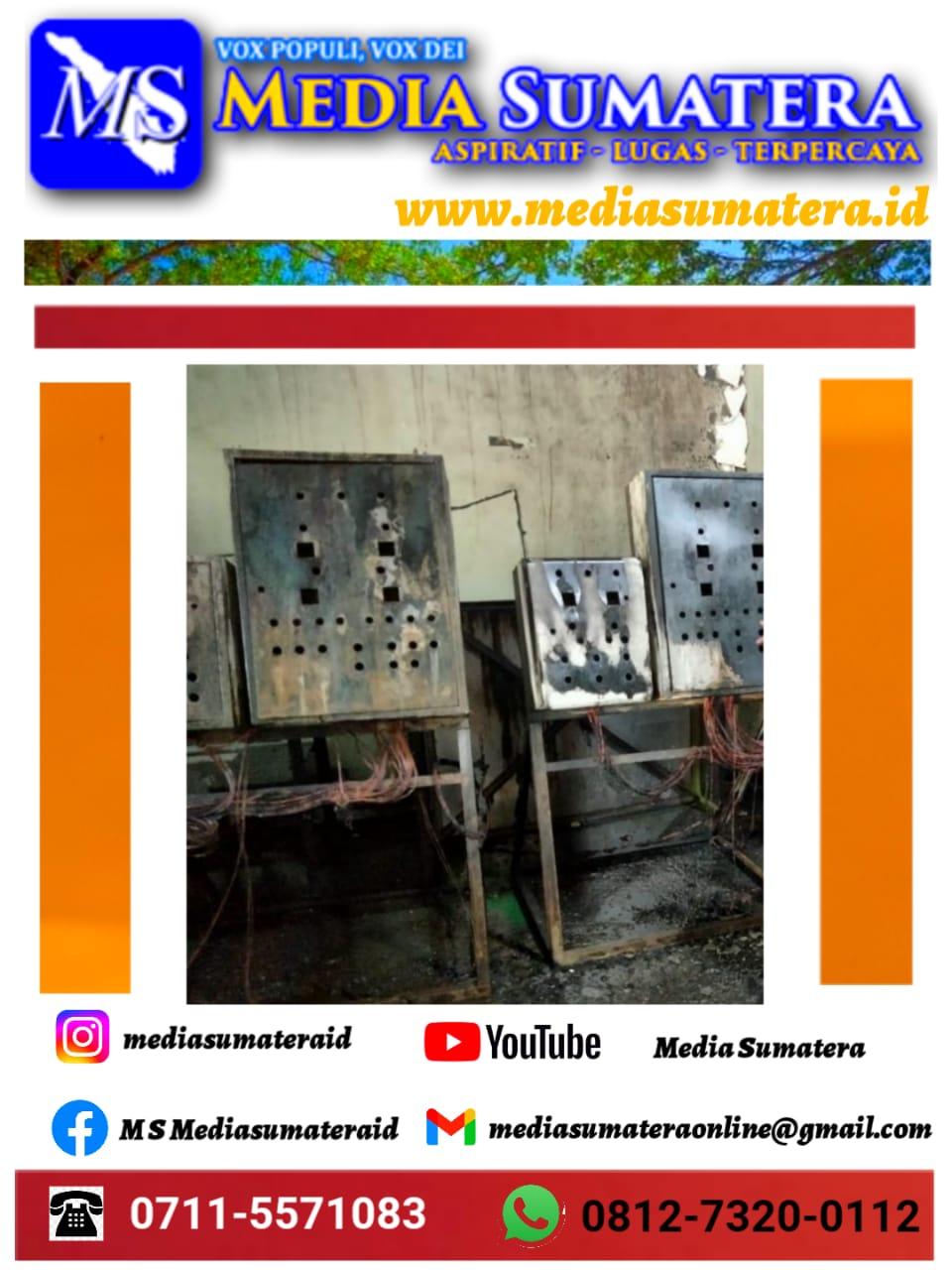 Pabrik Roti Di KIM Star Tanjung Morawa Terbakar, Kerugian Ditaksir Rp 250 Juta