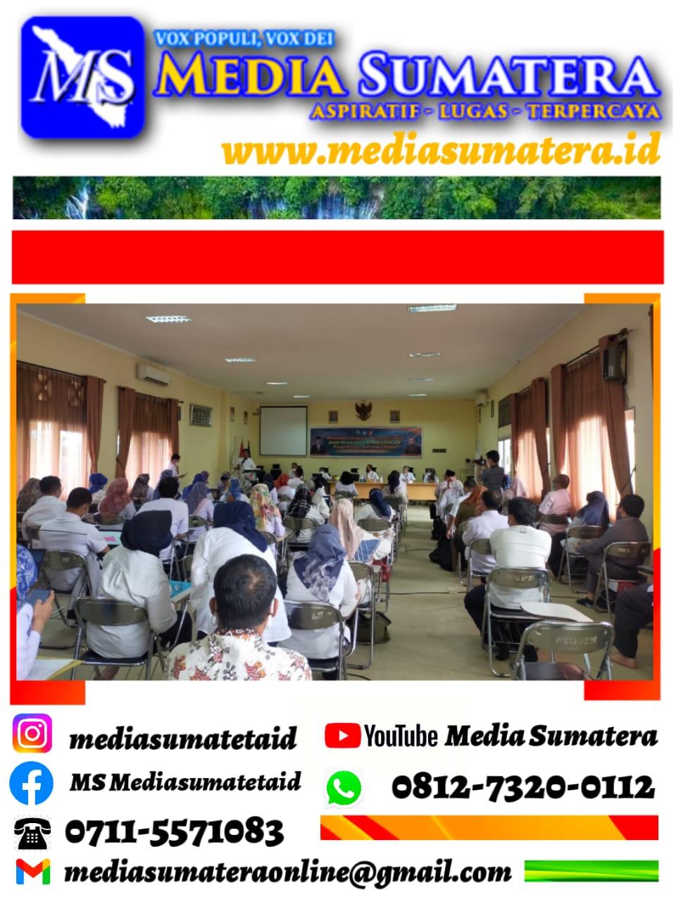 SMAN 3 Palembang Gelar Workshop Bahan Ajar Digital Resmi Dibuka Oleh Kepala Disdik Provinsi Sumsel