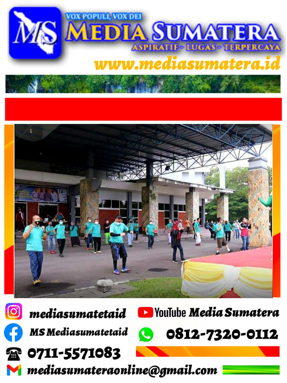 """Gathering Kapolda Sumsel Bersama Awak Media """"Pers Bermartabat"""" Polisi Dan Pers Dulur Kito"""