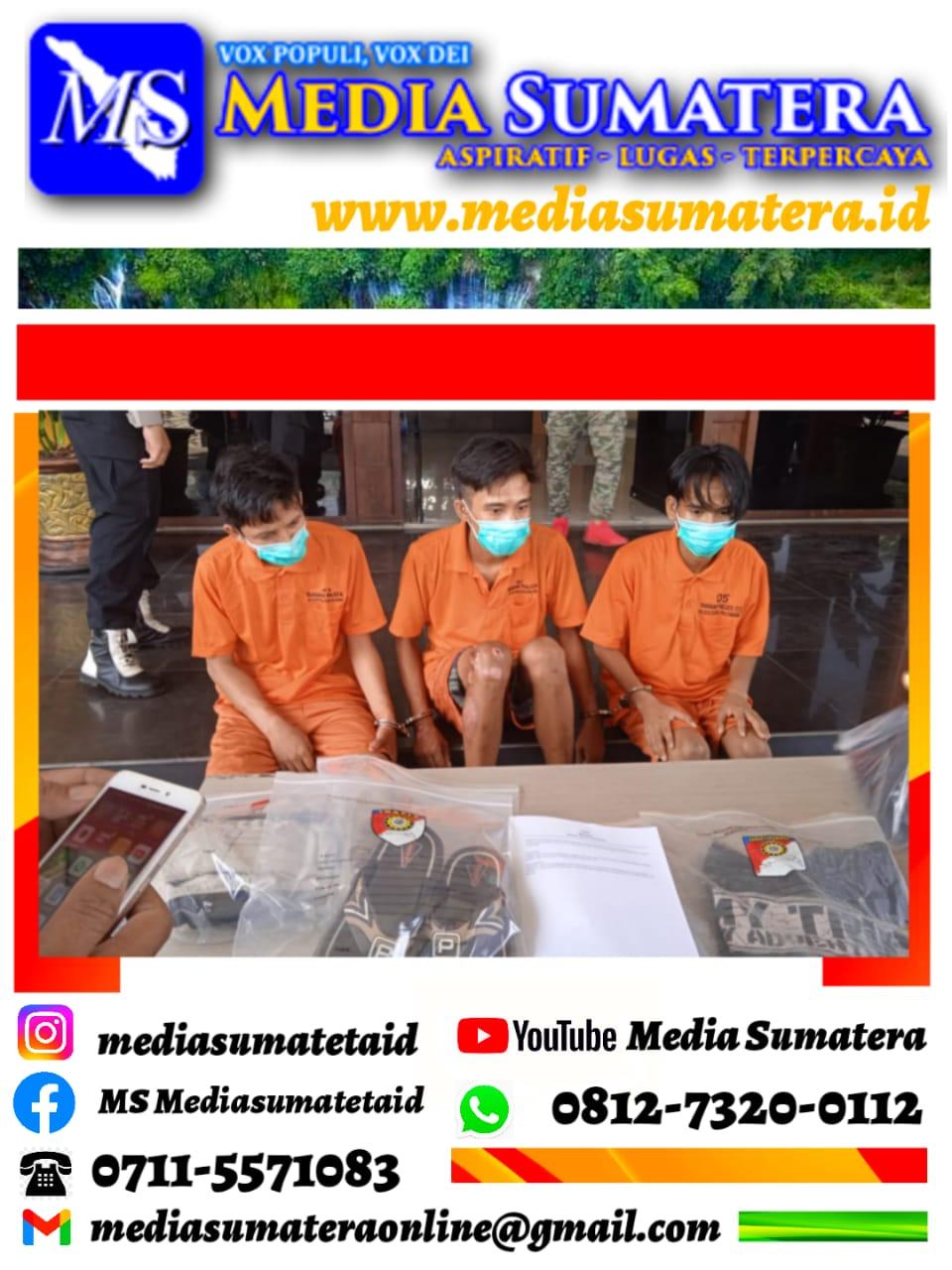 Sempat Viral Dimedsos, Begal Di Jalan Ariodillah Berhasil Ditangkap Reskrim Polrestabes Palembang