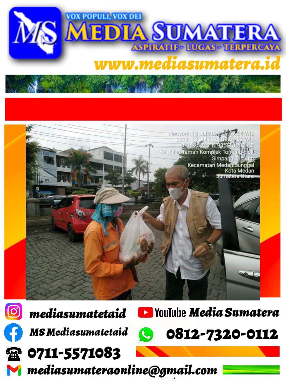 Aksi Kasih Anak-Anak Eks PNP 7 Ditengah Pandemi Covid-19 Dan Pemberlakuan PPKM Di Kota Medan