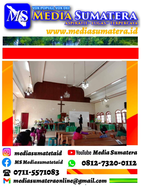 Pendeta Resort GKPI Jemaat Khusus Immanuel Pdt. Martin P Hutabarat, S. Th., MM., Akan Melantik Bendahara Jemaat Yang Baru Periode 2020-2025