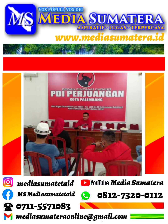 DPC PDI Perjuangan Kota Palembang Bentuk Struktur Badan Penanggulangan Bencana (BAGUNA) PDI Perjuangan Kota Palembang