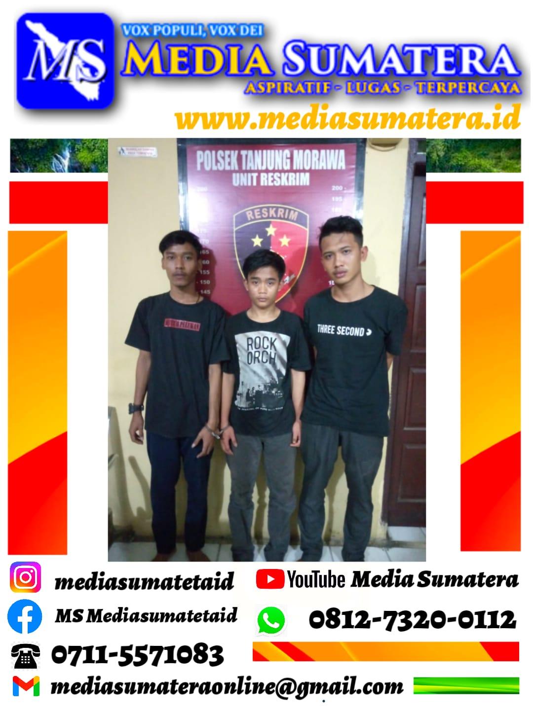 Unit Reskrim Polsek Tanjung Morawa Ringkus 2 Pelaku Curi Uang Rp 75 Juta Milik SPBU