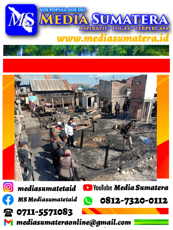 """Aksi Sosial DPP Forum Sumsel Bersatu (FSB) """"Peduli"""" Bantu Korban Kebakaran di Desa Pemulutan Ilir Ogan Ilir"""