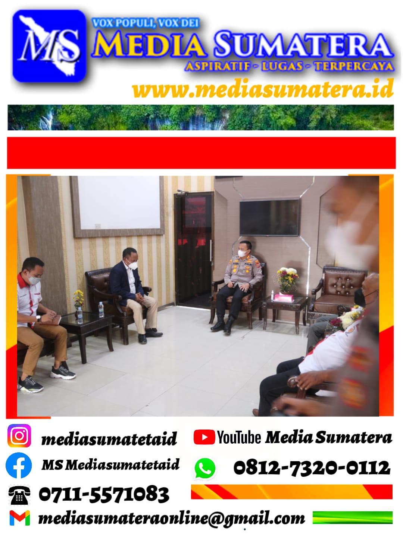 Pengurus KONI Kabupaten Deli Serdang Audensi Dengan Kapolresta Deli Serdang