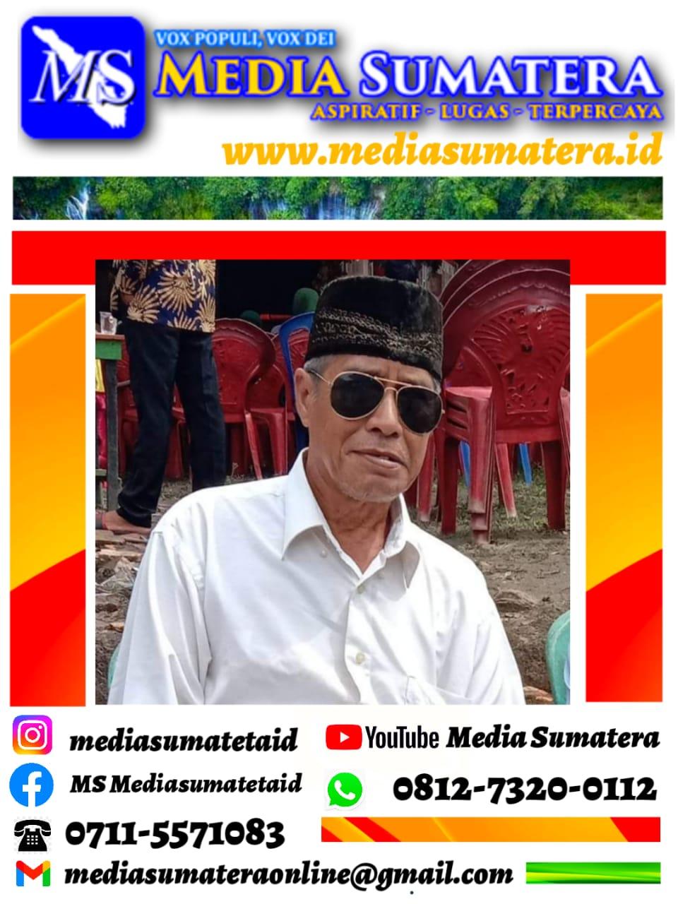Suharman, Tokoh Masyarakat : Pesta Demokrasi 2022 Balon Kades Desa Tanjung Tambak Baru Kecamatan Tanjung Batu Kabupaten Ogan Ilir Harus Yang Berkompeten