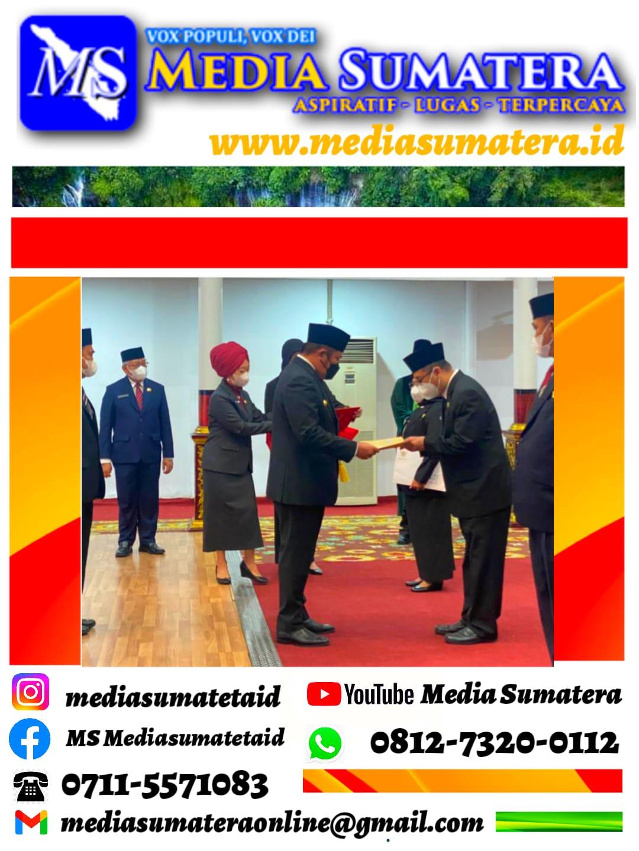 Prof. Dr. H. Edward Juliartha, S. Sos., MM., Resmi Menjabat Sebagai Kepala Dinas Kearsipan Provinsi Sumatera Selatan
