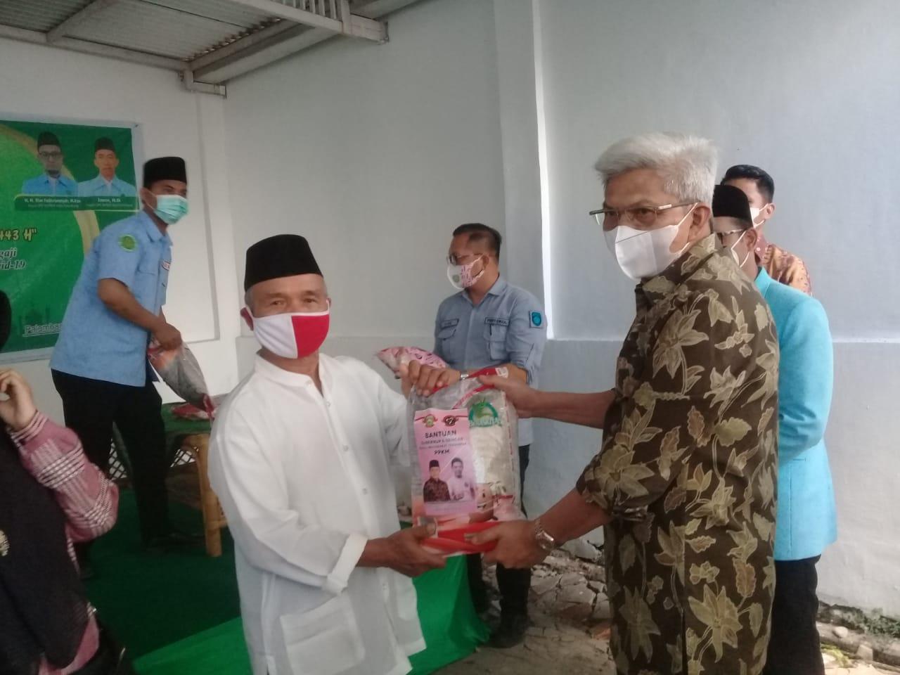 Badan Komunikasi Pemuda Remaja Masjid Indonesia (BKPRMI) Terima Bantuan Beras dari Gubernur Sumsel dan Melalui DPP Gencar Indonesia
