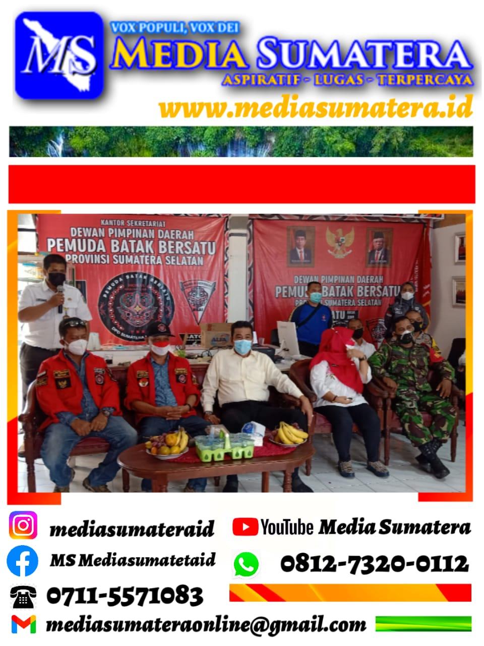 Pemprov Sumsel Melalui Dinas Sosial Serahkan Bantuan Sosial Kepada DPD Pemuda Batak Bersatu Sumsel Sebanyak 5 Ton 380 Kg Beras Untuk Disalurkan Ke Masyarakat yang Membutuhkan