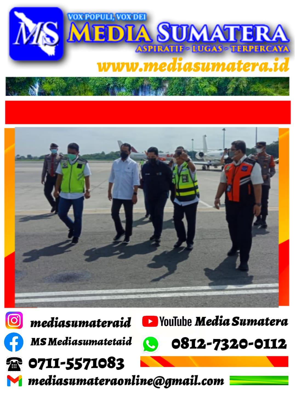 Polresta Deli Serdang Ketat Dalam Pengamanan Kedatangan Menteri Perhubungan Dan Menteri BUMN
