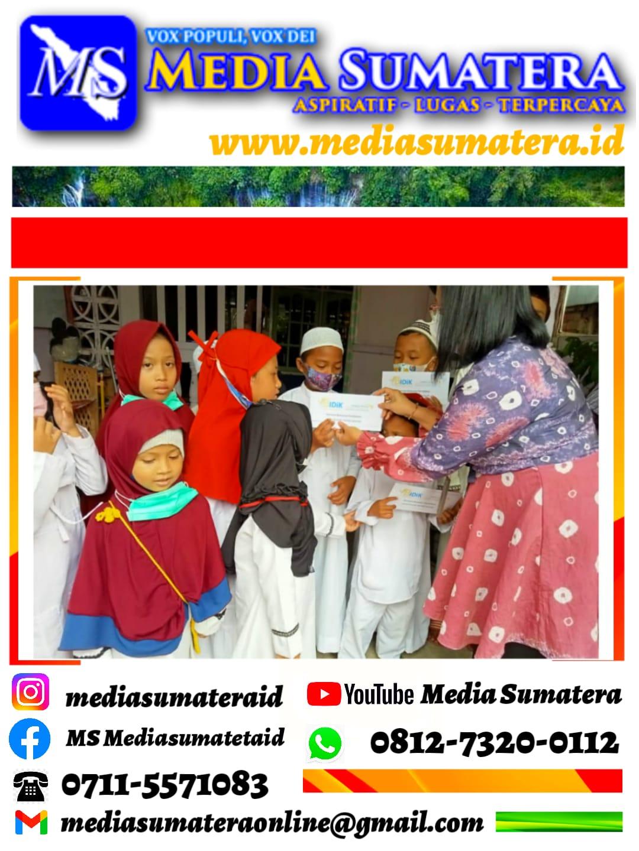 Peringati 1 Muharam Persaudaraan Muslimah (Salimah) PC Ilir Timur II Berkaloborasi Dengan Belajar Integritas dari Kecil (BIDIK) Santuni Anak Yatim Di Masa Pandemi.