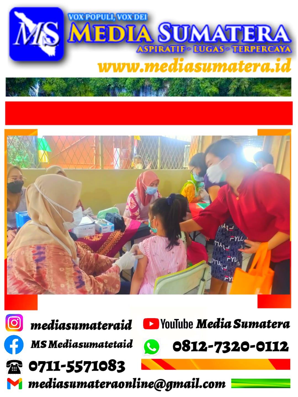 Vaksin BIAS di SDK Frater Xaverius 2 Palembang oleh Puskesmas Dempo