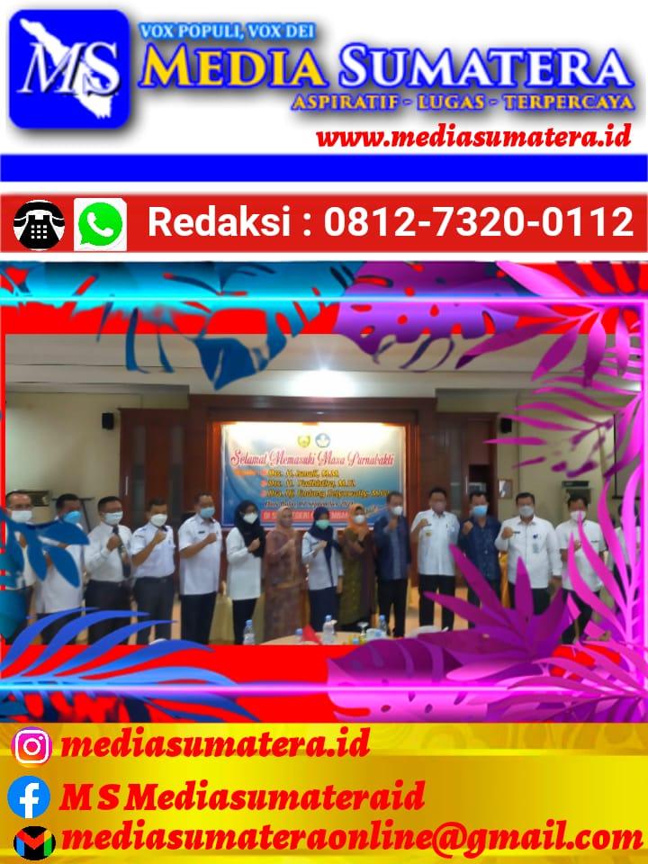 Pelepasan Purnabakti Pengawas SMK Sumsel Dihadiri Oleh Kadiknas Provinsi Sumsel H. Riza Pahlevi